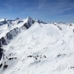 Foto: Gletscherbahnen Kaprun AG; Gesamtansicht Skigebiet Kitzsteinhorn
