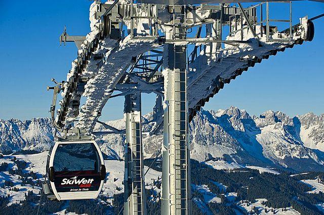 Foto: Ski Welt Wilder Kaiser - Brixental, Albin Niederstrasser; Skiweltbahn Brixen