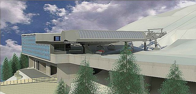 Foto: AB-Planungsbüro Bmst Ing. Marin Aschaber, Neubau Jovhbahn in der SkiWelt Brixen