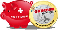 Logo: TOURISTISCHE UNTERNEHMUNG GRÄCHEN AG