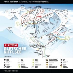 Winterpanorama: © Pitztaler Gletscherbahn GmbH & Co KG.