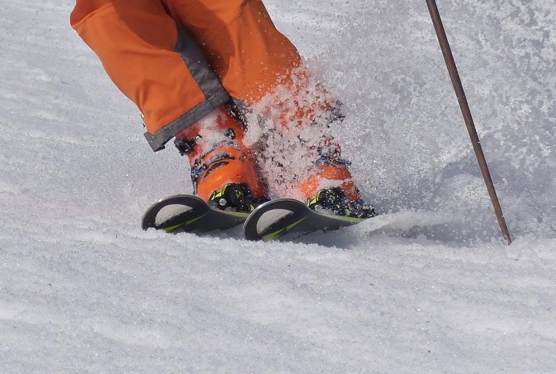 besserer fersenhalt im skischuh